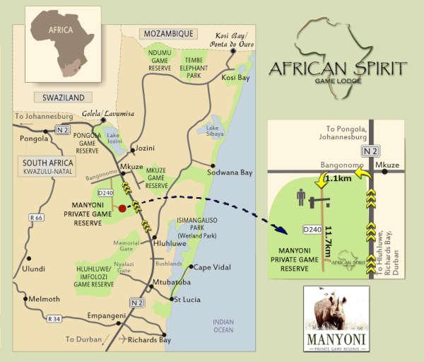 african-spirit-game-lodge-map